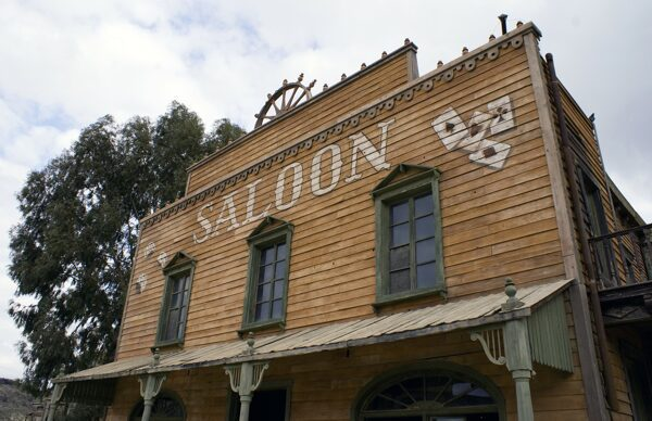 Picture of Saloon - There's no such thing as a free lunch - the same goes for services that offer free gift card delivery